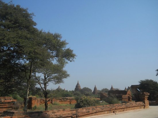 Temples de Bagan : a view of the place