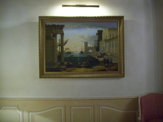 Hotel Luxembourg Parc : Beautiful paintings in rooms