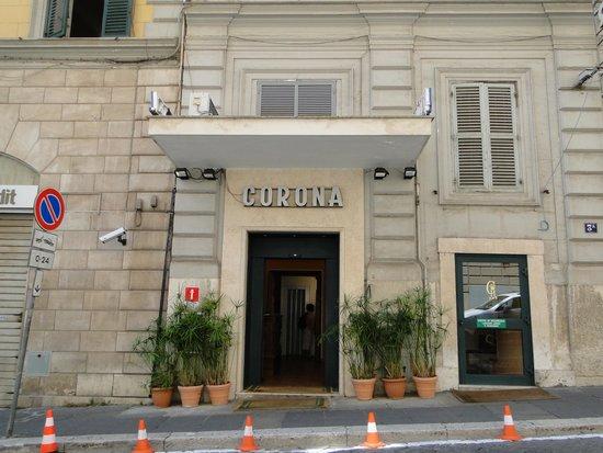 Corona Hotel: Hotel Corona, Rome, Italy.