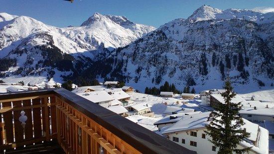 Burgwald Hotel: Blick vom Balkon