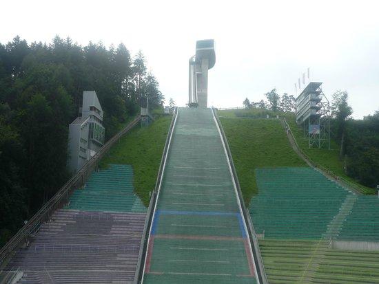 Bergisel Sprungschanze: view with Bergisel sky-jump