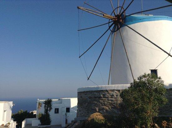 Windmill Bella Vista: Vue depuis notre chambre