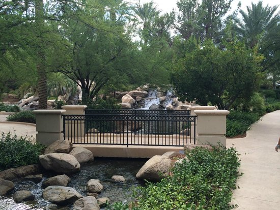 JW Marriott Las Vegas Resort & Spa : Beautiful Grounds JW Marriott LV