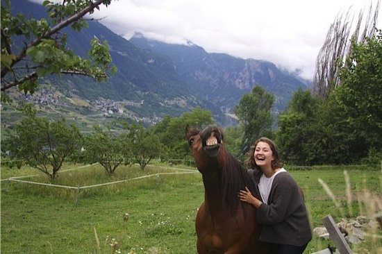 Agriturismo B&B L'Arc en Ciel: Even Bella is smiling!