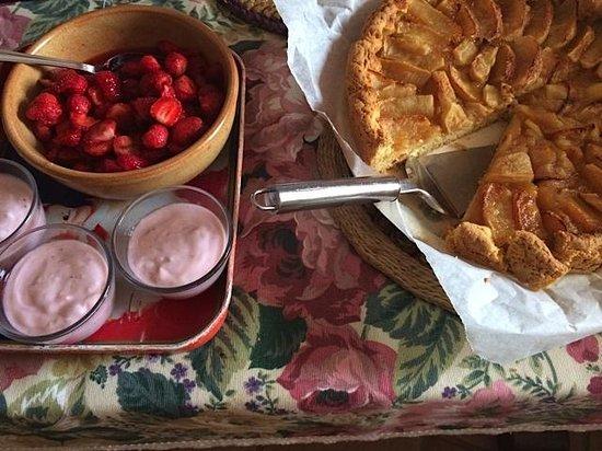 Agriturismo B&B L'Arc en Ciel: Delic breakfast
