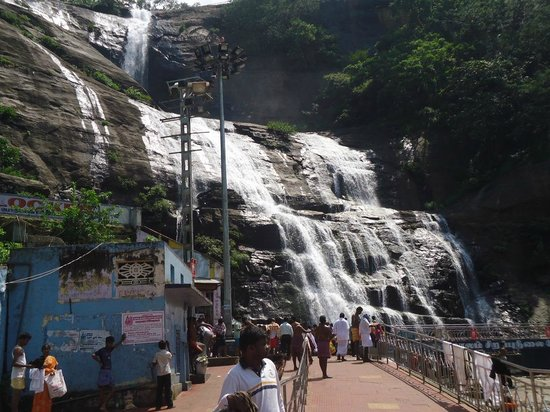 Courtallam: Main Falls