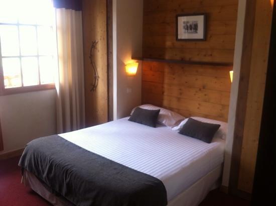 Hotel L'Arboisie : chambre suite megeve