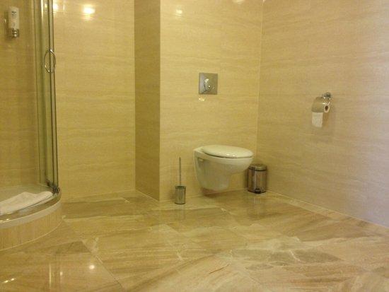 Hotel Jan : Bathroom is large!