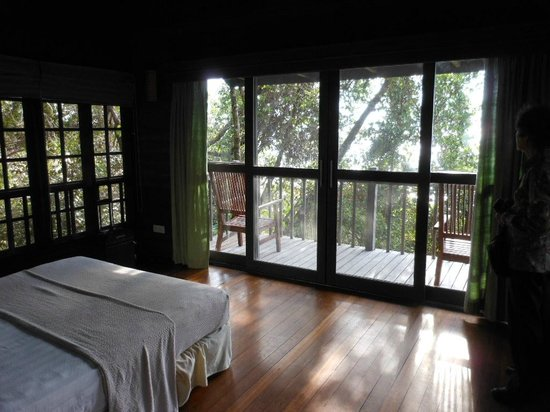 Permai Rainforest Resort: Balcony