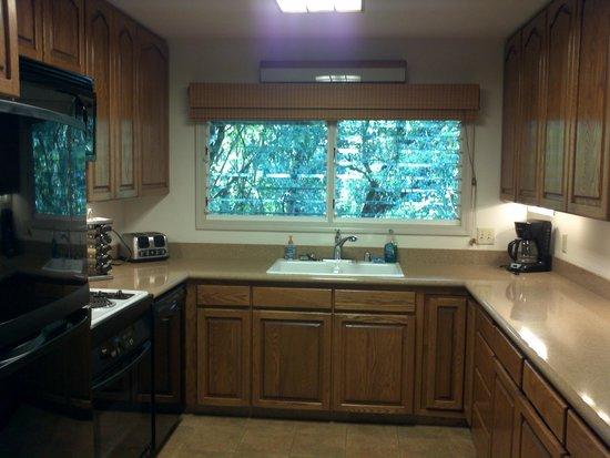 River Estate: kitchen