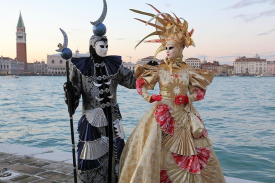 San Giorgio Maggiore : 仮装した人