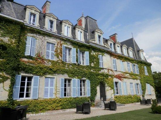 Chateau De Lalande: vue hotel
