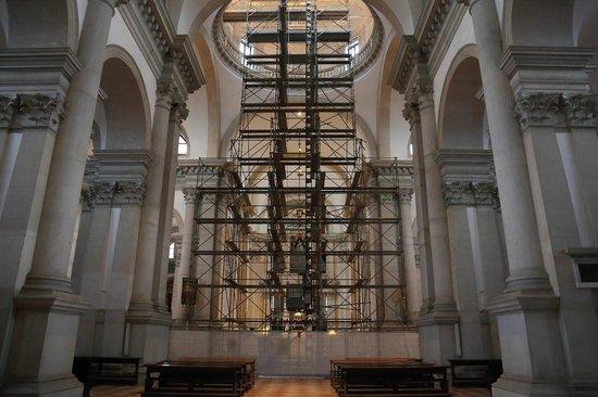 San Giorgio Maggiore : 身廊(工事中)
