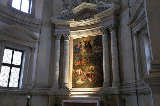 San Giorgio Maggiore : ティントレットの『聖ステファノ』