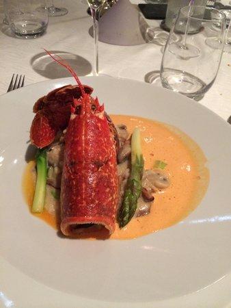 La Jabotiere: Succulent ! Un délice de homard avec son risotto