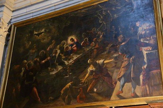 San Giorgio Maggiore : ティントレットの『最後の晩餐』