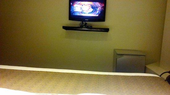 Green Windows Dormitel: flat screen tv