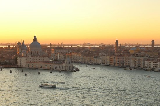 San Giorgio Maggiore: ヴェネチアの夕焼け