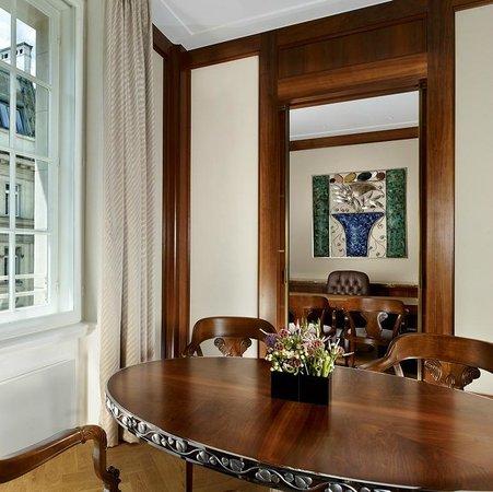 Park Hyatt Vienna: Executive Suite Dining Room + Study