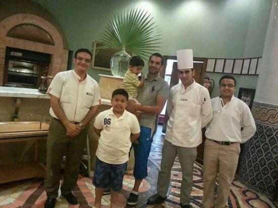 Hilton Sharm Waterfalls Resort: Fine dining at the Italian