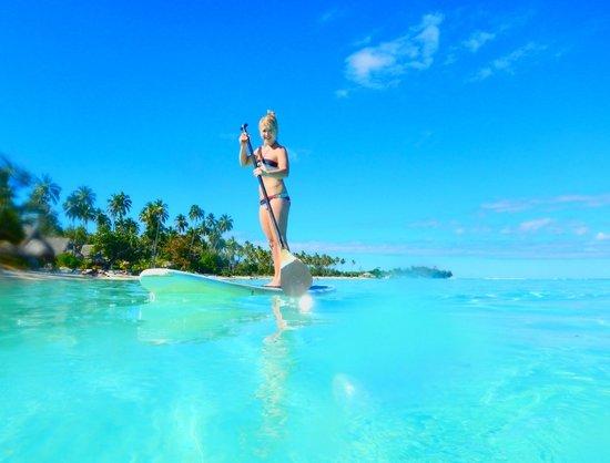 Sofitel Moorea Ia Ora Beach Resort: Paddle boarding #2