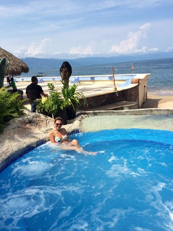 Las Palmas by the Sea: Jacuzzi by the beach