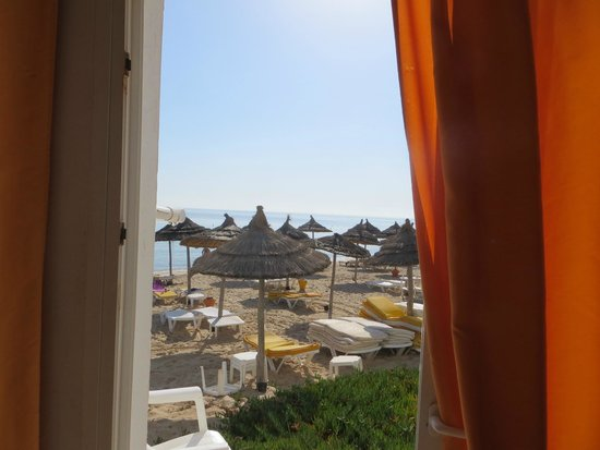 Thalassa Sousse Resort & Aquapark: View from our room  near the beach