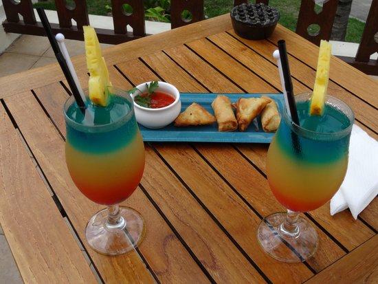 Hilton Mauritius Resort & Spa : coktails