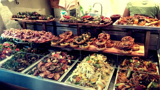 Megans Café & Grill: Our ever-changing selection of seasonal salads, quiches.