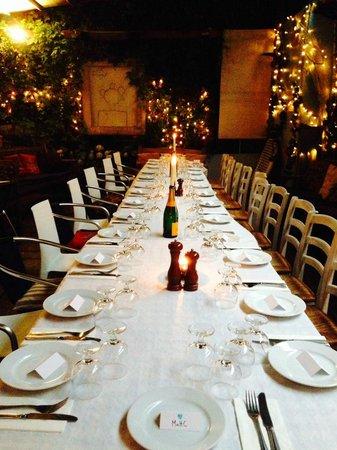 Megans Café & Grill: West London's best kept secret, welcome to the magical courtyard.