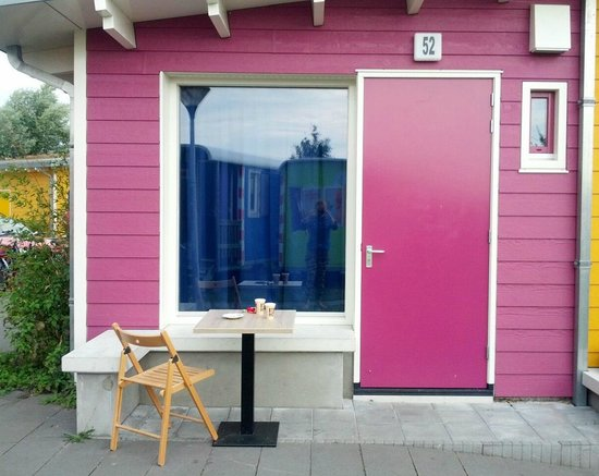 Camping Zeeburg: Eco-cabin