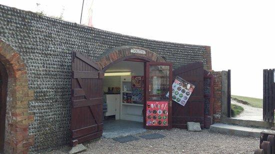 Belle Tout Lighthouse: The shop!