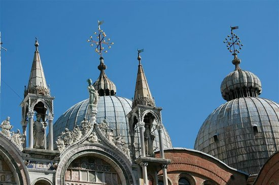 Basilique Saint-Marc : Indrukwekkend mooie daken.