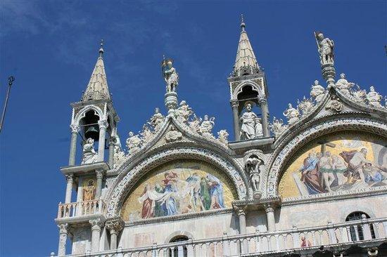 Basilique Saint-Marc : Grandiose mozaïeken.