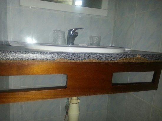 Le Floralys: Floralys - Salle de bains chambre standard