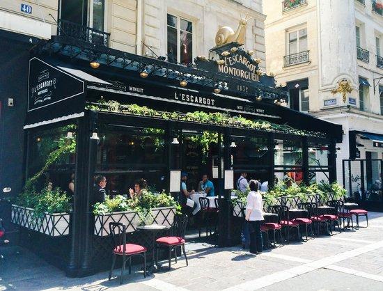 L'Escargot Montorgueil: Magnifique Véranda