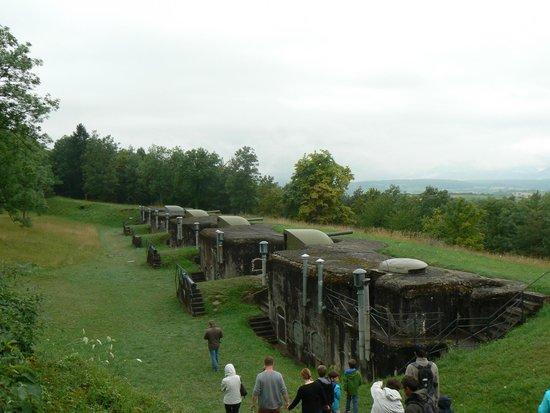 Fort de Mutzig : les canons