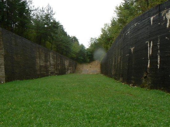 Fort de Mutzig : les fosses