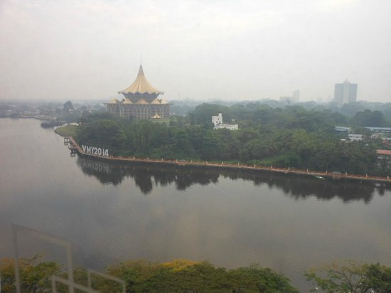 Hilton Kuching: River view
