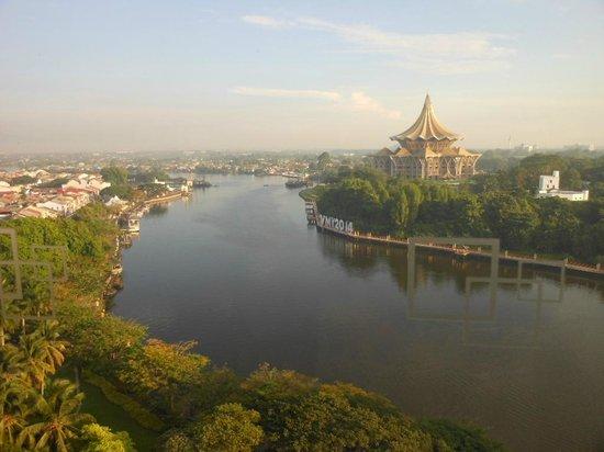 Hilton Kuching: View of Sarawak river