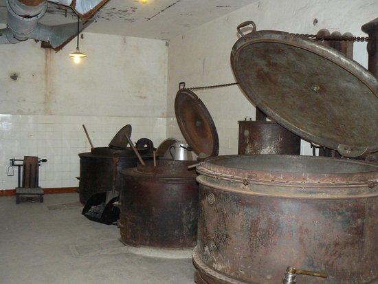 Fort de Mutzig : la cuisine