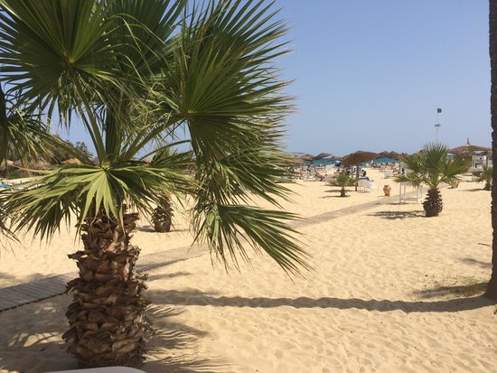 SENTIDO Phenicia: View from beach bar chill out area