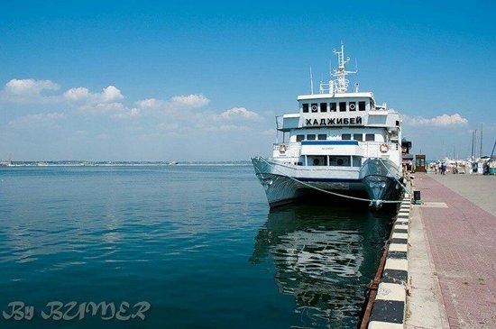 The Odessa Port: Катамаран Хаджибей