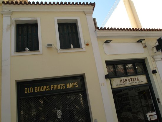 Plaka District: a nice building