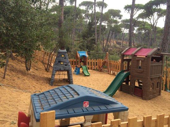 """La Maison de la Foret: Play area at """"La Maison de la Forêt"""""""
