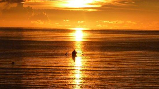 Ampana, Indonesia: sunset