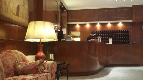Hotel Roma : Hall dell'albergo Roma