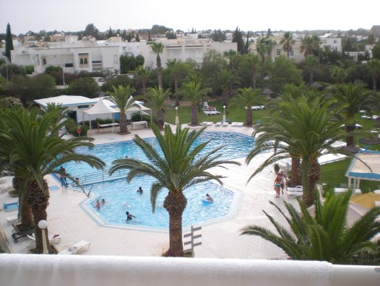 Golf Residence Hotel : View from balcony