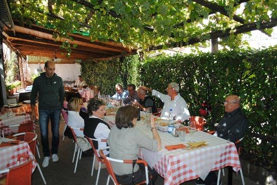 Trattoria Pizzeria Giardino: Gita con i ciclisti