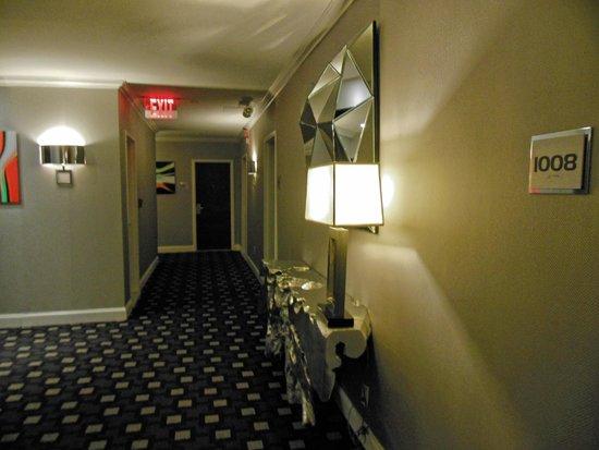 Ameritania Hotel: il corridoio del nostro piano, il decimo.